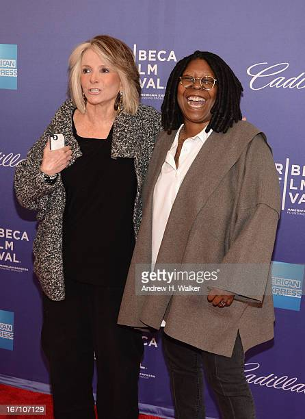 President of HBO Documentary Films Sheila Nevins and actress Whoopi Goldberg attend the I Got Somethin' To Tell You World Premiere during the 2013...