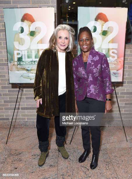President of HBO Documentary Films Sheila Nevins and First Lady of NYC Chirlane McCray attend the NY Special Screening of the HBO Documentary Film 32...