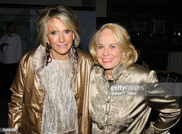 President of HBO Documentary Films Sheila Nevins and Journalist Liz Smith attend the 18th Annual Gotham Independent Film Awards at Museum of Finance...