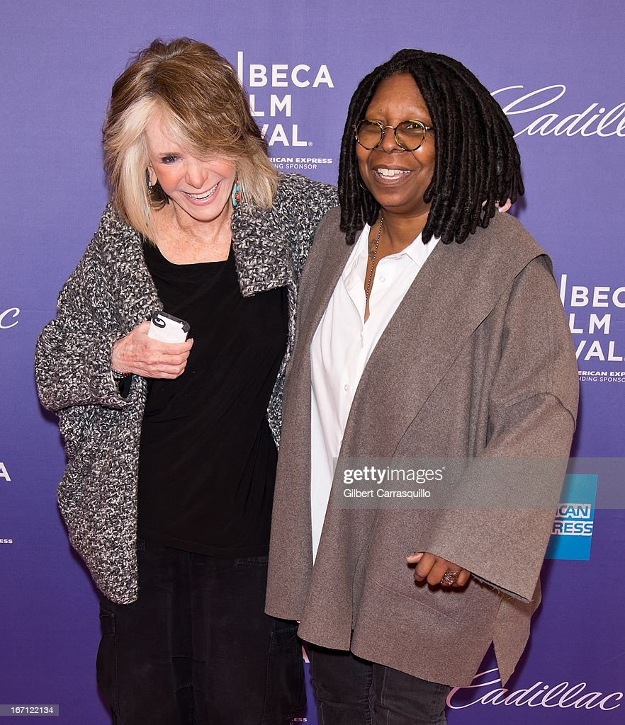 President of HBO Documentary Films Sheila Nevins and Whoopi Goldberg attend the screening of 'I Got Somethin' to Tell You' during the 2013 Tribeca Film Festival at SVA Theater on April 20, 2013 in New York City.