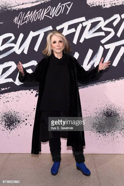 President of HBO Documentary Films Sheila Nevins poses during Glamour Celebrates 2017 Women Of The Year Live Summit at Brooklyn Museum on November 13...