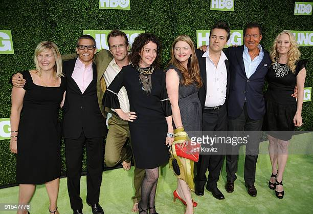 President of HBO Entertainment Sue Naegle Programming Group West Coast Operations Mike Lombardo actor Thomas Jane actress Jane Adams...