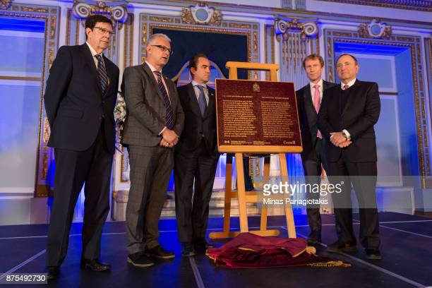 President of hockey operations and general manager of the Nashville Predators David Poile Member of Parliament Stephane Lauzon president and owner of...