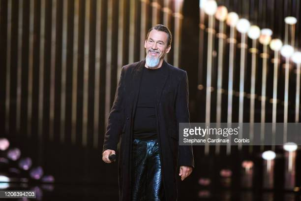President of honor Florent Pagny attends the 35th 'Les Victoires De La Musique' Show At La Seine Musicale on February 14, 2020 in...