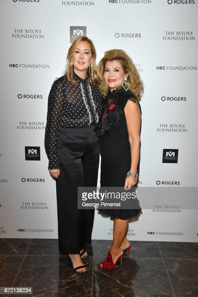 President of Hudson's Bay Company, Alison Coville and Co Chair Vonna Bitove attend the HBC Foundation presentation of Haute Affair in support of the...