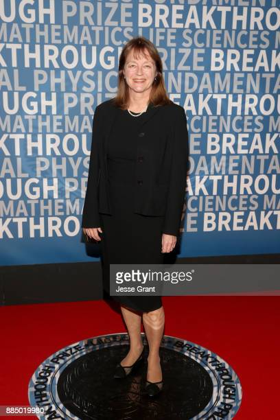 President of Imperial College London Alice Gast attends the 2018 Breakthrough Prize at NASA Ames Research Center on December 3 2017 in Mountain View...