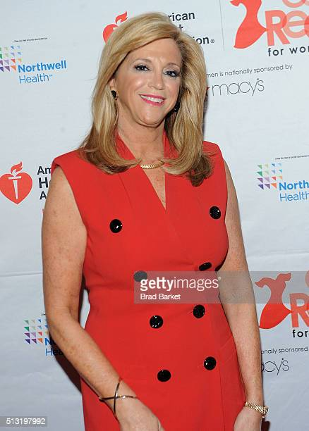 President of Ingenious Design LLC Joy Mangano attends the 2016 Go Red For Women Luncheon at New York Hilton Midtown on March 1 2016 in New York City