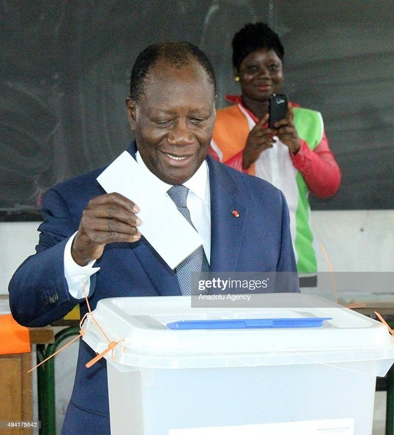 Presidential Election in Ivory Coast : ニュース写真