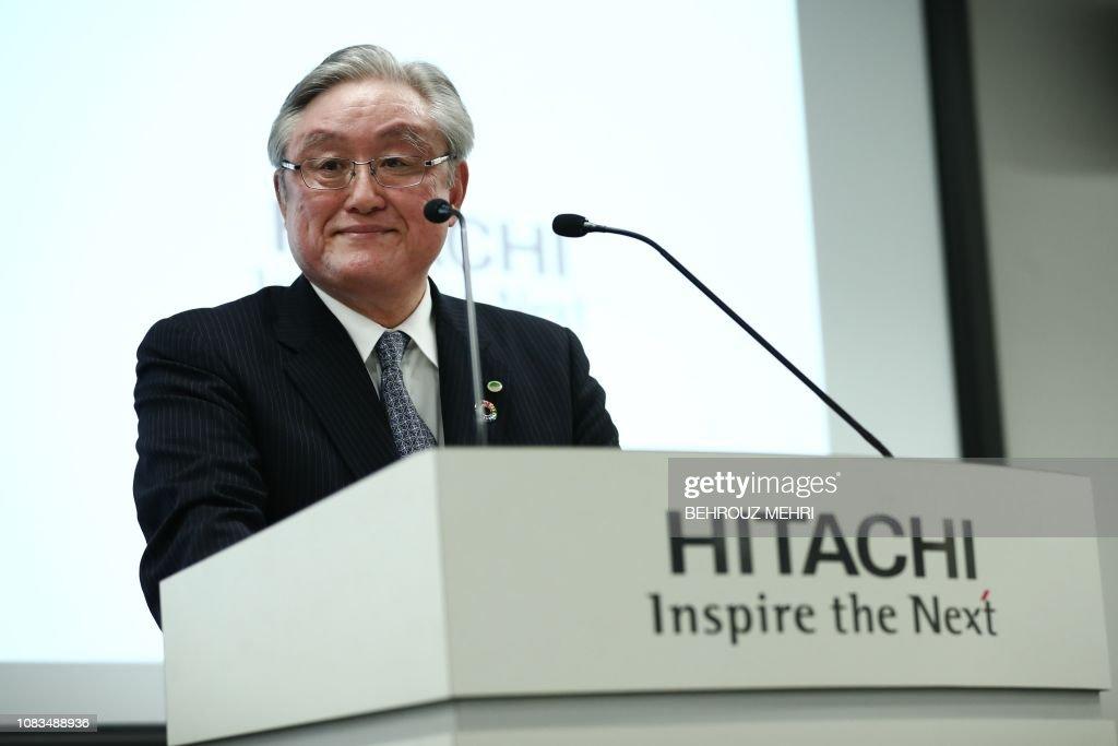 Japan-Britain-nuclear-Hitachi : News Photo