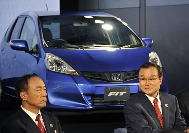 President Of Japans Auto Maker Honda Mo