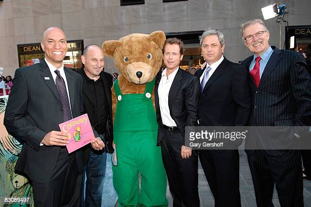 President of Jumpstart James Cleveland children's book author Jon Scieszka Corduroy actor Greg Kinnear President of Pearson Mark Nieker and CEO of...