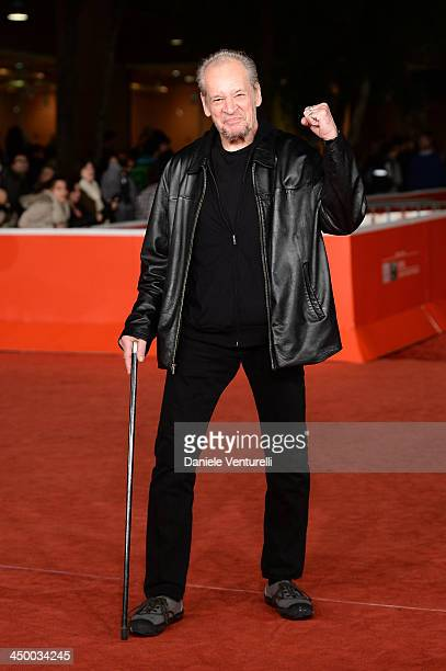 President of jury Larry Clark attends the Award Ceremony Red Carpet during The 8th Rome Film Festival on November 16, 2013 in Rome, Italy.