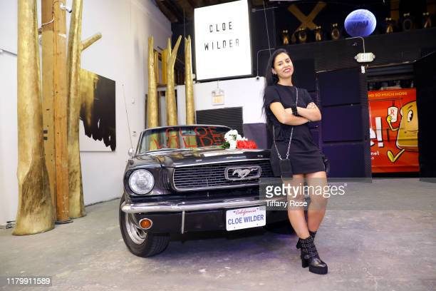 President of JV Agency Jazmine Valencia attends Cloe Wilder's Save Me music video premiere party on October 08 2019 in Los Angeles California