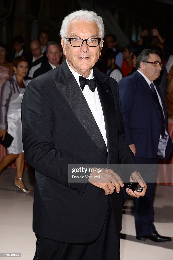 President of La Biennale Paolo Baratta attends the Opening Ceremony during The 70th Venice International Film Festival on August 28, 2013 in Venice, Italy.