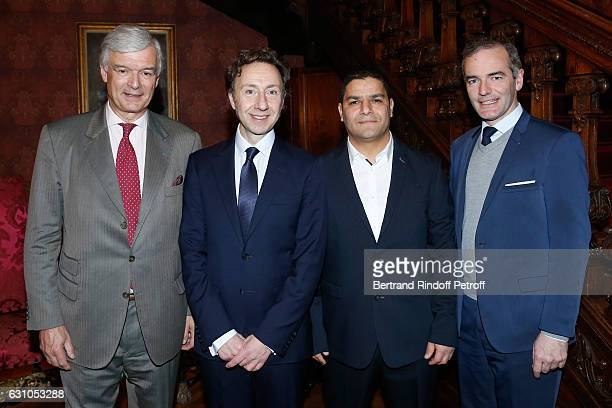 President of 'Les Vieilles Maisons Francaises' Philippe Toussaint who receives the Prize of Stephane Bern's Foundation for 'Patrimoine Institut de...