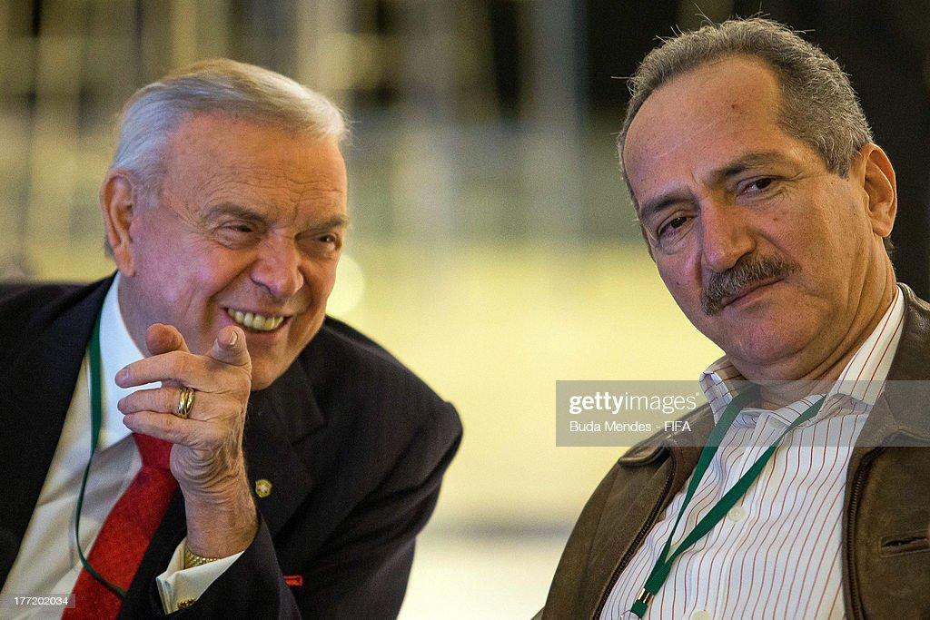 LOC Board Meeting at Maracana Stadium - 2014 FIFA World Cup : News Photo