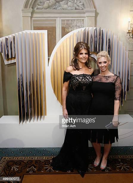 President of L'Oreal Paris USA Karen T Fondu and AVP of Strategic Marketing at L'Oreal Paris Mora Neilson attend the L'Oreal Paris Women of Worth...