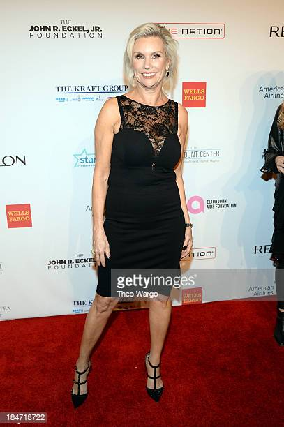 President of MAC Cosmetics Karen Buglisi attends the Elton John AIDS Foundation's 12th Annual An Enduring Vision Benefit at Cipriani Wall Street on...