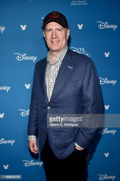 President of Marvel Studios Kevin Feige took part today in the Disney Showcase at Disney's D23 EXPO 2019 in Anaheim Calif