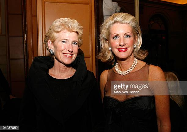 President of Metropolitan Museum of Art Emily K Rafferty and General Partner Vice Chair of the New York Yankees Jennifer Steinbrenner Swindal attend...