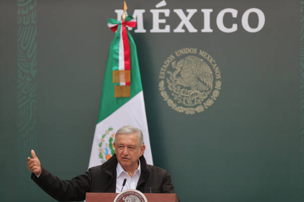 MEX: President Lopez Obrador Holds Report on The 43 Missing Students From Ayotzinapa