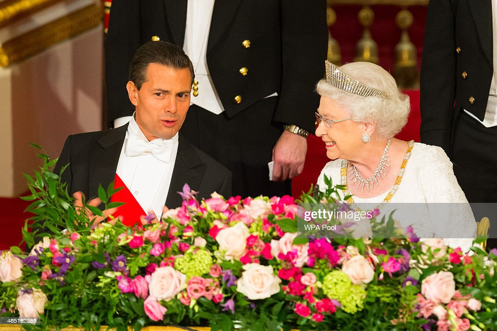 State Visit Of The President Of United Mexican States - Day 1 : News Photo