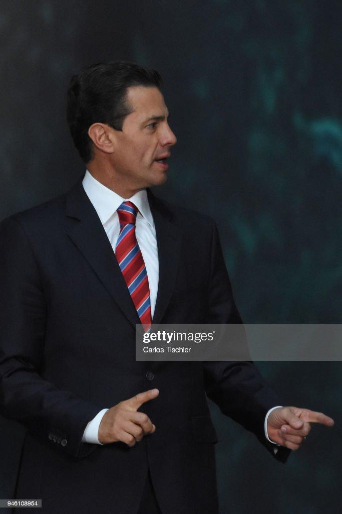 Erna Solberg Official Visit to Mexico : Fotografía de noticias