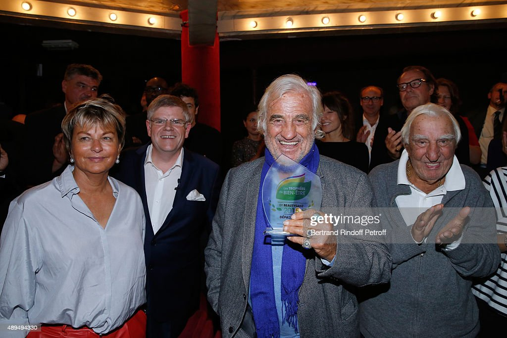 'Trophees Du Bien Etre' : Award Ceremony To Benefit 'Mimi Ullens' Fondation At Theatre de La Gaite Montparnasse In Paris