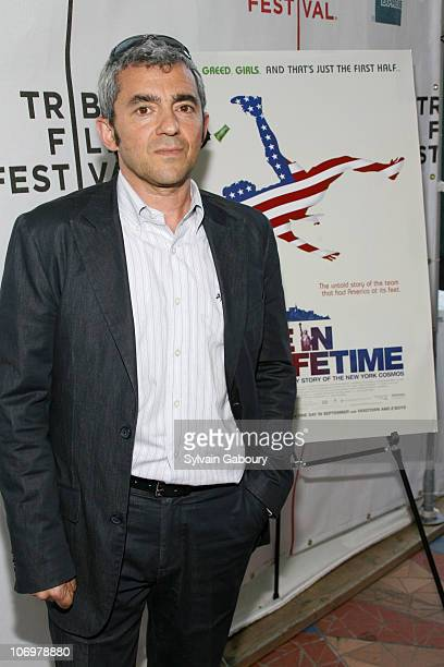 """President of Miramax Daniel Battsek during The Tribeca Film Festival screening of Miramax Films' """"Once In A Lifetime: The Extraordinary Story Of The..."""