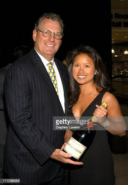 President of Moet and Chandon John Esposito during The 2003 Gala Preview of the New York International Auto Show at The Jacob Javits Center in New...