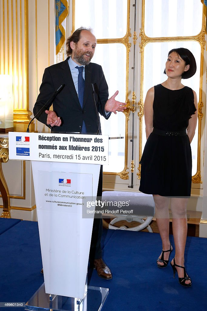 Reception At The Ministry Of Culture In Honor Of The Nominated To Molieres 2015 In Paris