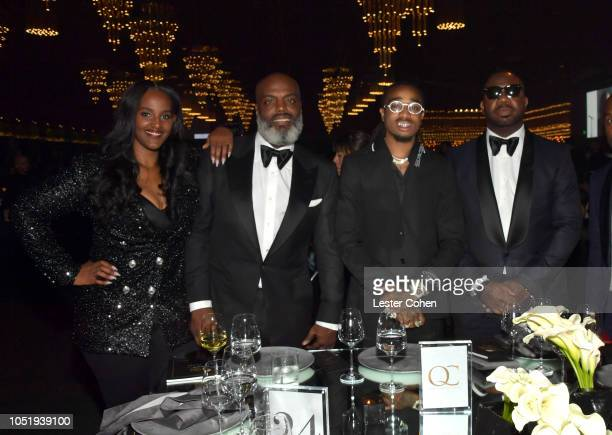 President of Motown Records Ethiopia Habtemariam cofounder of Quality Control Music Kevin Coach K Lee performing artist Quavo of Migos and cofounder...