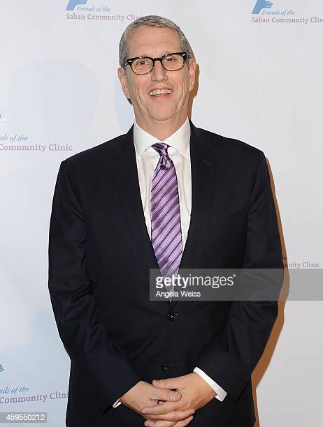 President of MTV Networks Doug Herzog attends Saban Community Clinic's 38th Annual Dinner at The Beverly Hilton Hotel on November 24 2014 in Beverly...