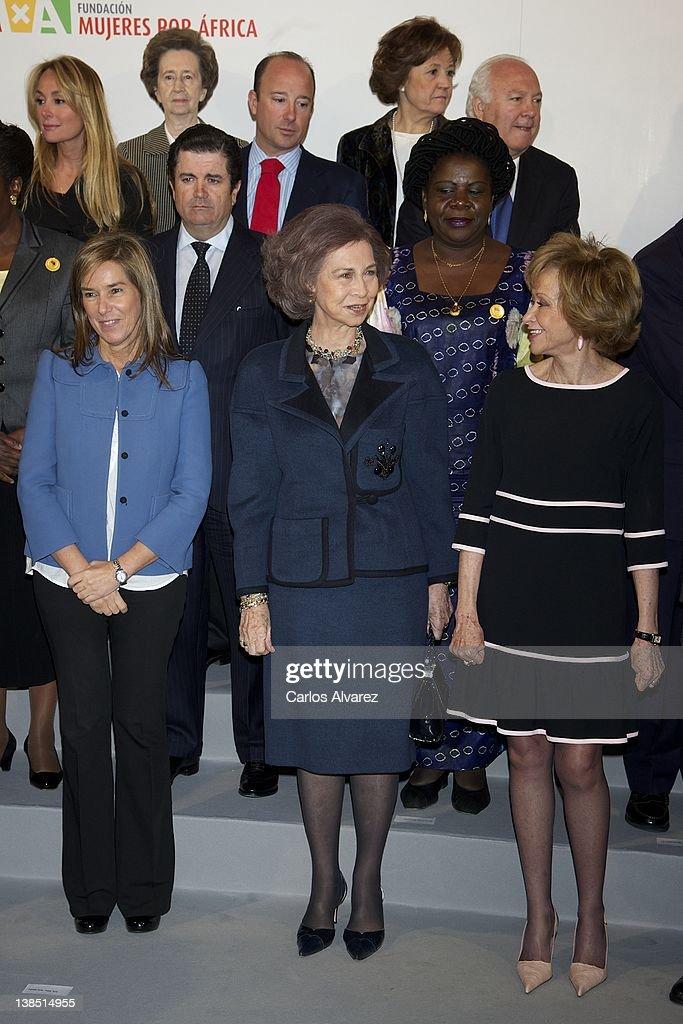 Queen Sofia of Spain Attends 'Mujeres Por Africa' Presentation at Reina Sofia Museum