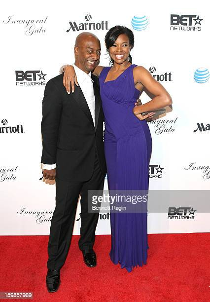 President of Music Programming and Specials at BET Networks Stephen Hill and actress Gabrielle Union attend the Inaugural Ball hosted by BET Networks...