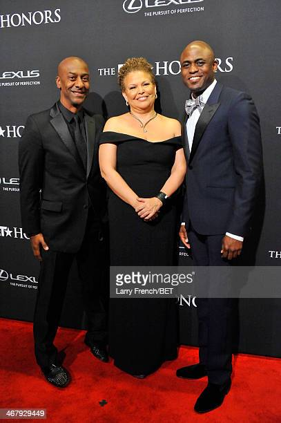 President of Music, Programming, and Specials of BET Networks Stephen G. Hill, Chariman and Chief Executive Officer of BET Networks, Debra L. Lee,...