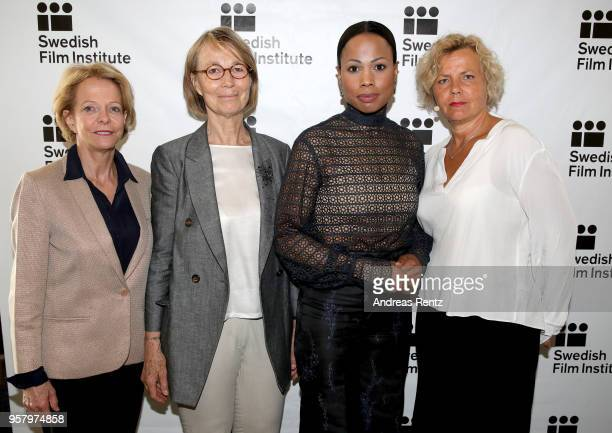 President of National Center of Cinematography Frederique Bredin French Minister of Culture Francoise Nyssen Swedish Minister of Culture Alice Bah...