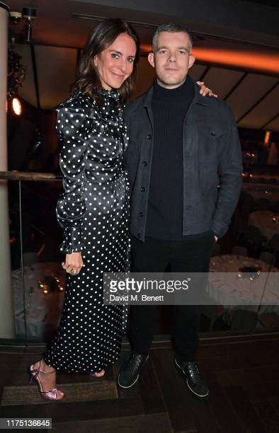 President of NETAPORTER and MR PORTER Alison Loehnis and Russell Tovey attend the launch of the MR PORTER charitable fund The MR PORTER Health In...