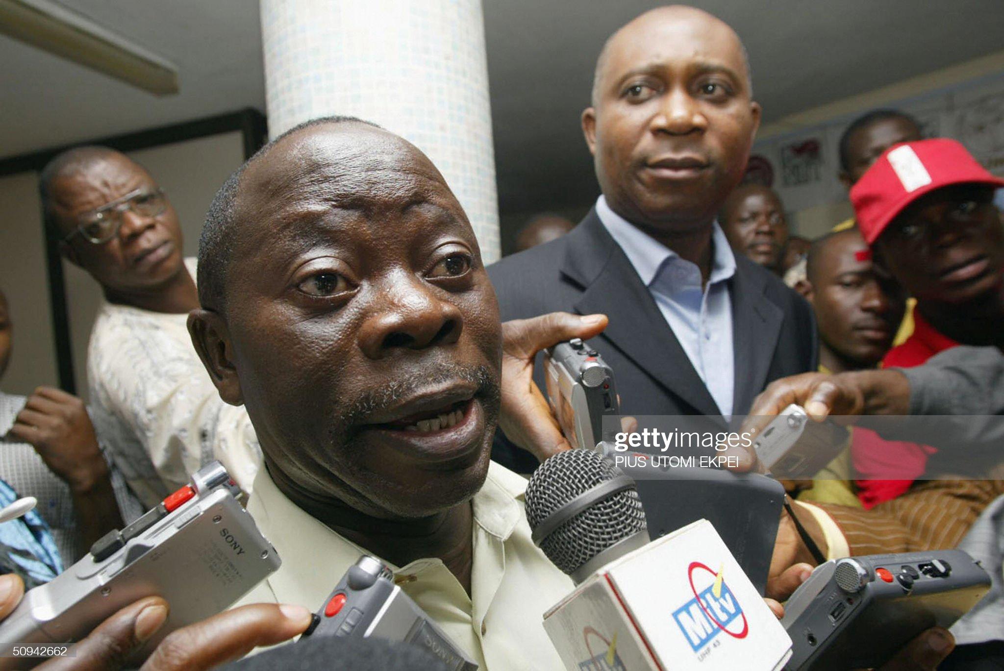 President of Nigeria Labour Congress Ada : News Photo