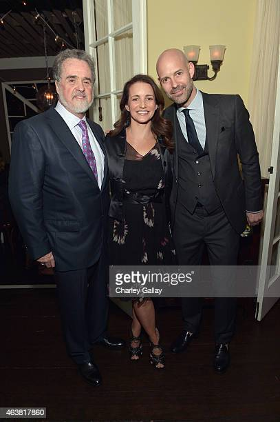 President of Oxfam Raymond Offenheiser actress Kristin Davis and publisher of Vanity Fair Chris Mitchell attend VANITY FAIR and Barneys New York...