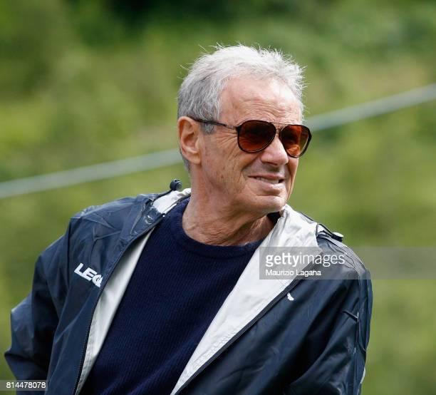 President of Palermo Maurizio Zamparini during pre-season training camp on July 14, 2017 in Bad Kleinkirchheim, Austria.