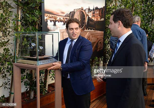 President of Panarai North America Rafael Alvarez and CAA agent Michael Kives attend the Panerai Summer 2014 Collectors Event at Mr C Beverly Hills...