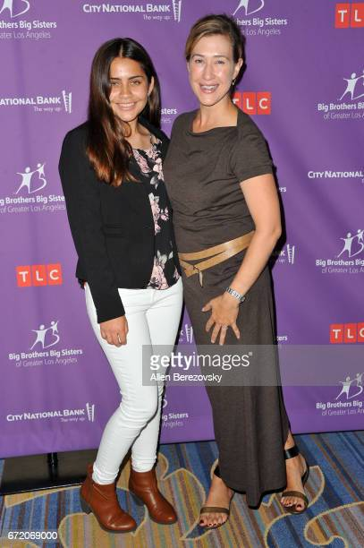 President of Paramount Television Amy Powell and her little sister attend Big Brothers Big Sisters of Greater Los Angeles' annual Accessories for...