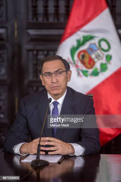 President of Peru Martín Vizcarra ratified a fight against corruption and the firm support of the Government to those who denounce this type of...