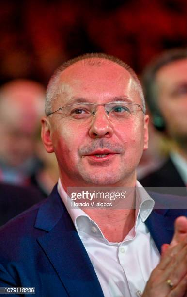 President of PES Sergei Stanishev at the Party of European Socialists PES Congress 2018 on December 08 2018 in Lisbon Portugal The XI PES Congress...