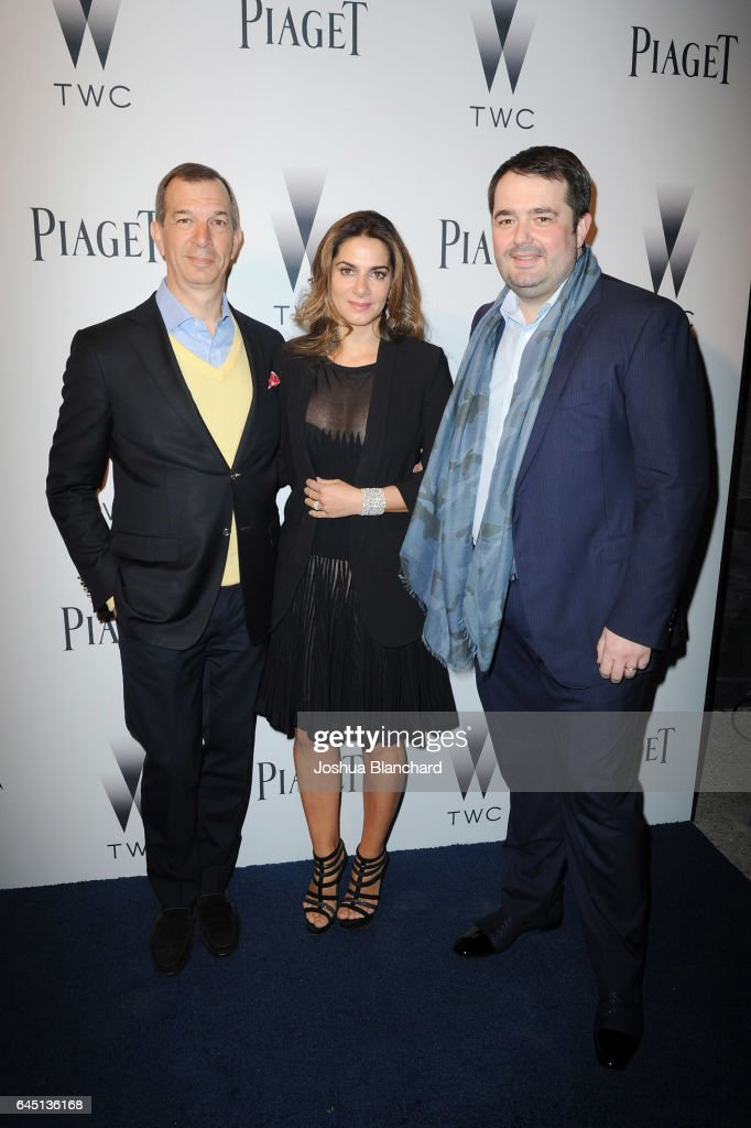Piaget And The Weinstein Company Host A Cocktail Party To Kick-Off Independent Spirit Awards And Oscar Weekend : News Photo