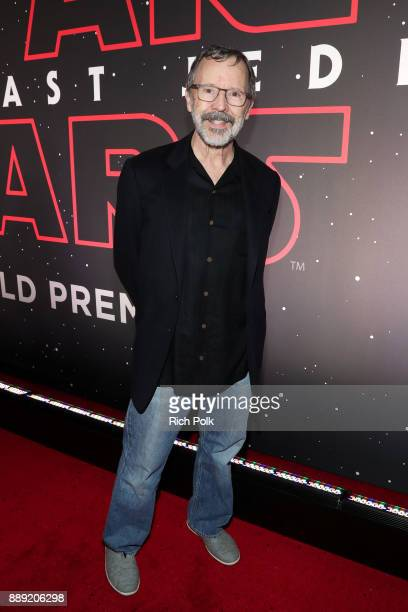 President of Pixar Edwin Catmull at the world premiere of Lucasfilm's Star Wars The Last Jedi at The Shrine Auditorium on December 9 2017 in Los...