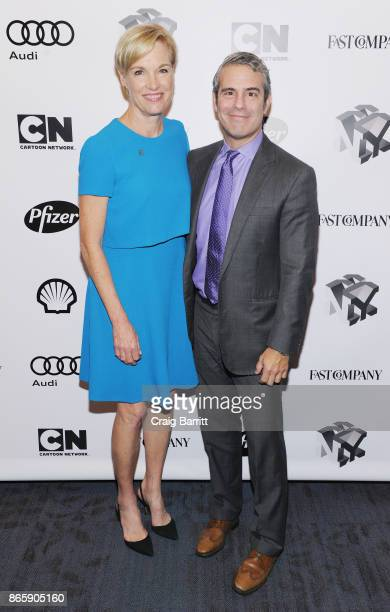 President of Planned Parenthood Cecile Richards and Andy Cohen attend Andy Cohen and Cecile Richards on Activism Pop Culture and Why Authenticity Is...