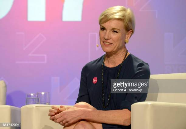 President of Planned Parenthood Cecile Richards speaks onstage at 'Activism Allyship and Where We Go From Here' during 2017 SXSW Conference and...