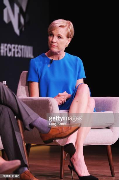 President of Planned Parenthood Cecile Richards speaks onstage at Andy Cohen and Cecile Richards on Activism Pop Culture and Why Authenticity Is The...